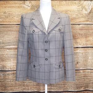 Pendleton Jackets & Coats - Pendleton Casual Wool Blend Blazer size 8